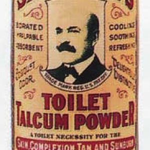 Sayman's Toilet Talcum Powder Tin