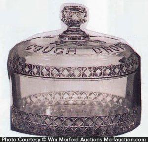 W & S Cough Drop Jar