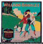Willson Goggles Sign