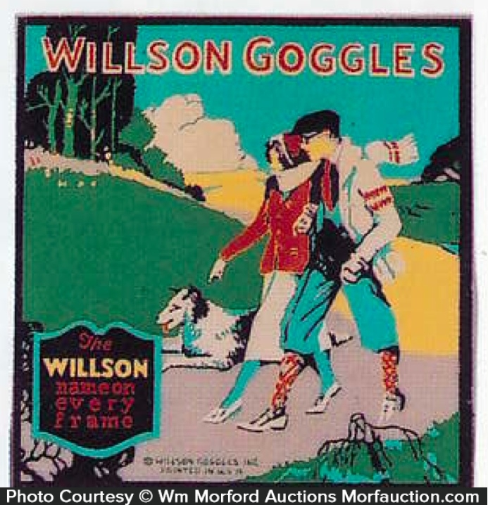Willson Goggles Sign