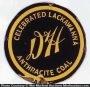 D & H Lackawanna Coal Sign