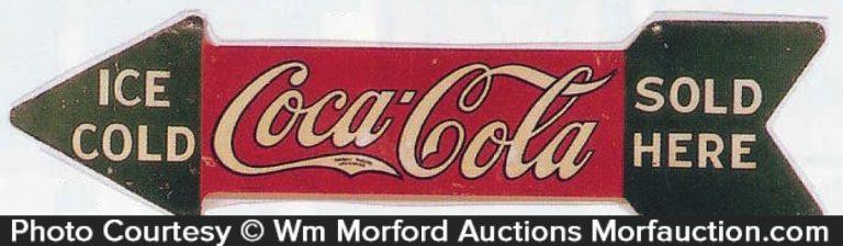 Coca-Cola Arrow Sign
