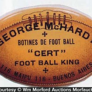 George Mchardy Football Mirror