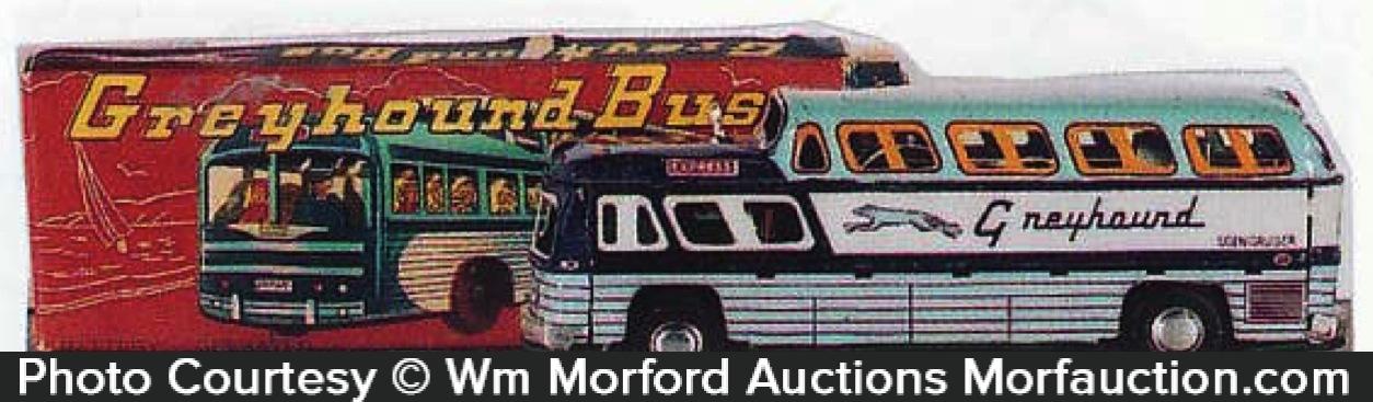 Greyhound Bus Toy