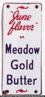 Meadow Gold Butter Door Push