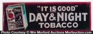 Day & Night Tobacco Sign
