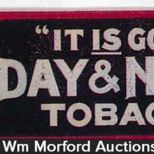 Day & Night Tobacco Sign