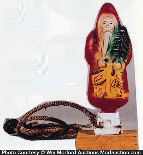 Santa Christmas Light