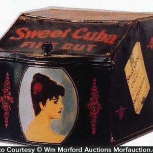 Sweet Cuba Tobacco Store Tin