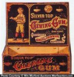 Silver Top Chewing Gum Box