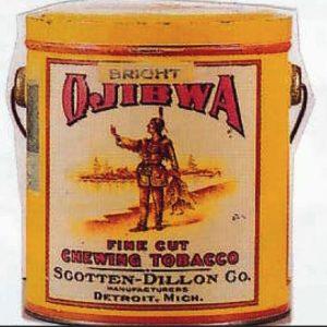 Ojibwa Tobacco Pail