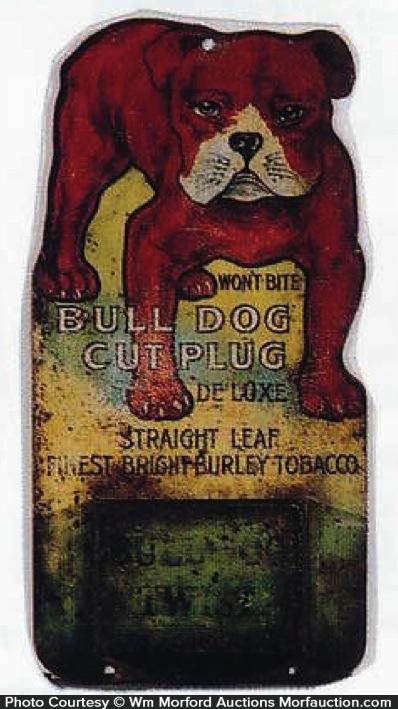 Bull Dog Cut Plug Match Holder
