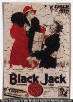 Black Jack Gum Puzzle