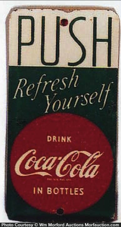 Coke Door Push