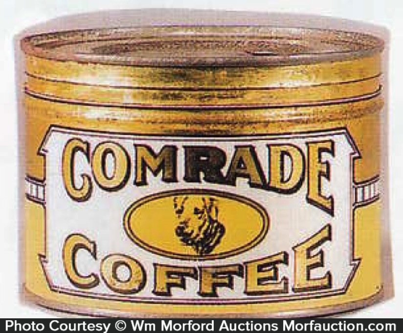 Folger's Comrade Coffee Can