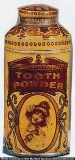 Vintage Tooth Powder Tin