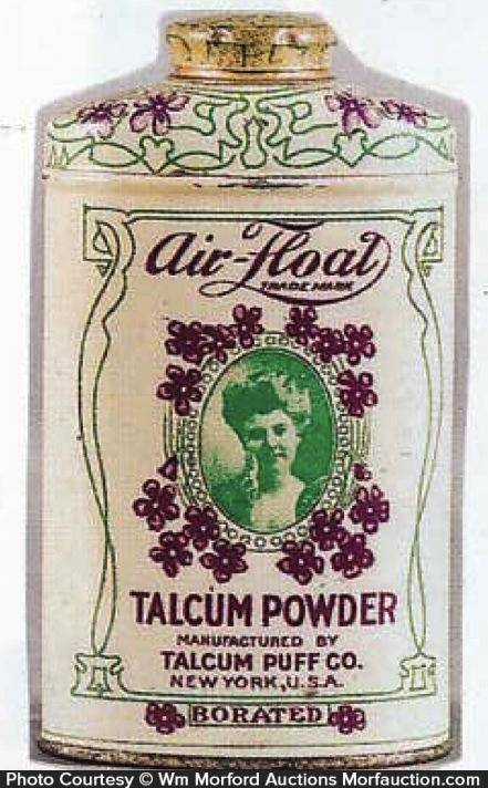Air-Float Talcum Powder Tin
