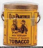 Old Partner Tobacco Pail