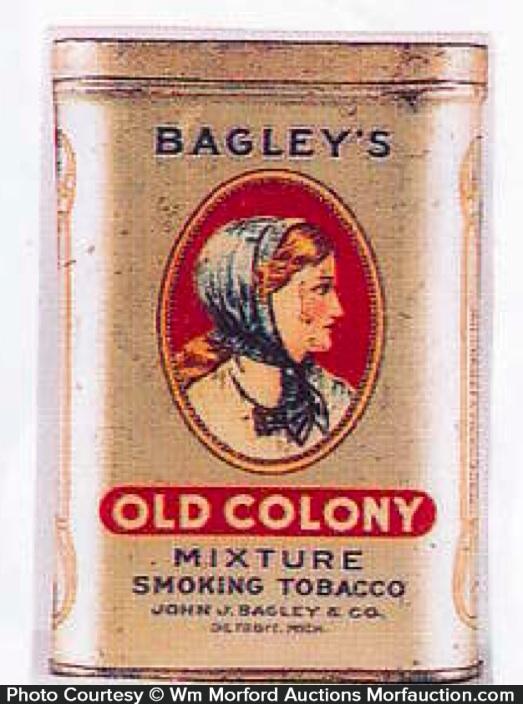 Old Colony Tobacco Tin