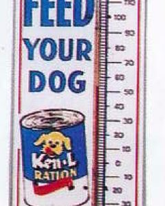 Ken-L-Ration Thermometer