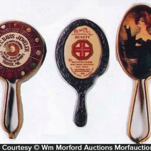Vintage Advertising Mirrors
