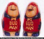 Bud Man Salt Shakers