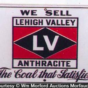 Lehigh Valley Anthracite Sign