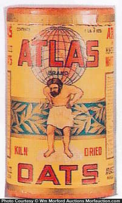 Atlas Oats Box