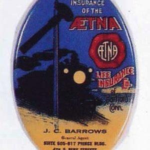 Aetna Insurance Pocket Mirror