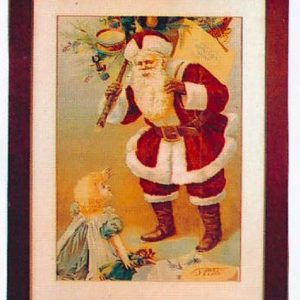 Santa Clause Soap Sign