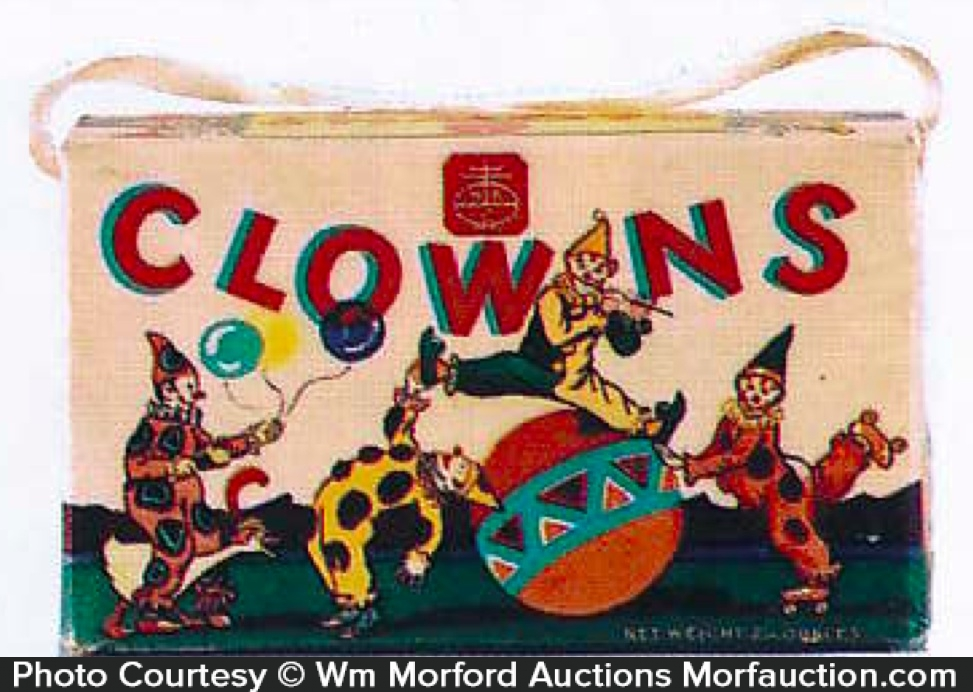 Nabisco Clowns Cookie Box