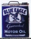 Blue Eagle Motor Oil Can