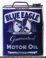 Blue Eagle Motor Oil Can
