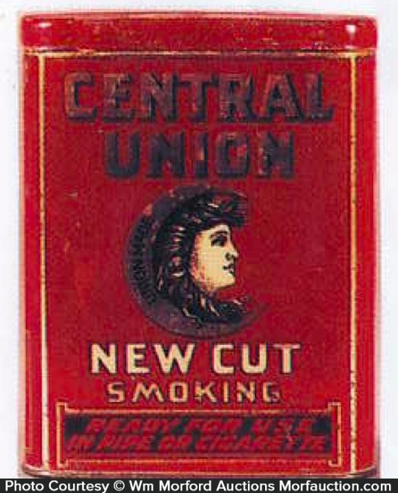 Central Union Tobacco Tin