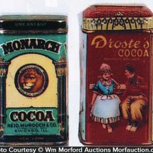 Cocoa Sample Tins