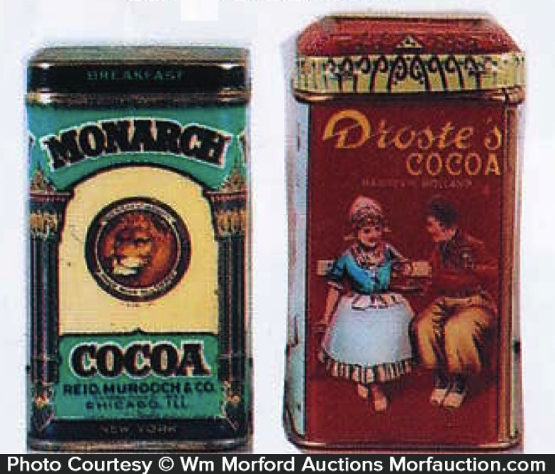 Cocoa Sample Tins
