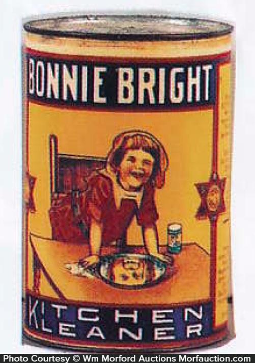 Bonnie Bright Kitchen Kleanser Tin