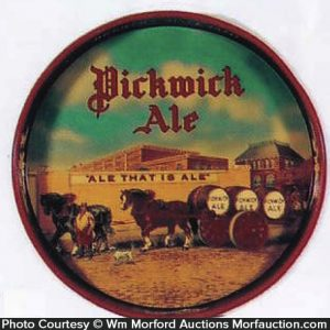Pickwick Ale Tray