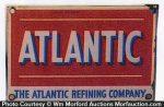 Atlantic Oil Refining Sign