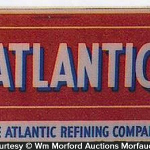 Atlantic Oil Refining Sign