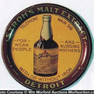 Stroh's Malt Extract Tip Tray