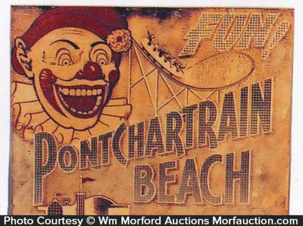 Pontchartrain Beach Sign