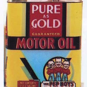 Pep Boys Motor Oil Can