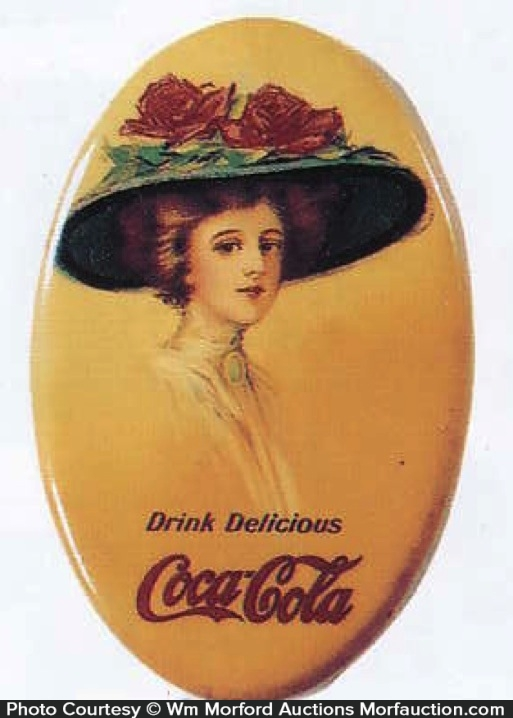 Coca-Cola Pocket Mirror