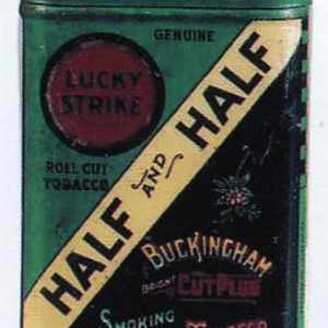 Half & Half Tobacco Sample Tin