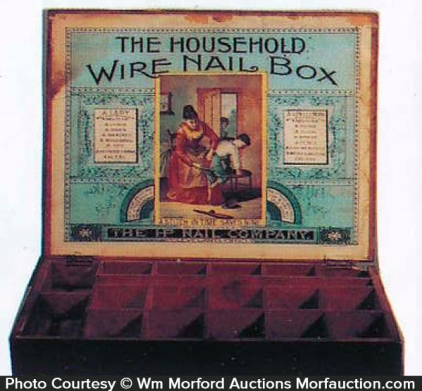Household Wire Nail Display Box