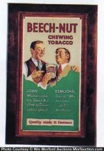 Beech-Nut Tobacco Sign
