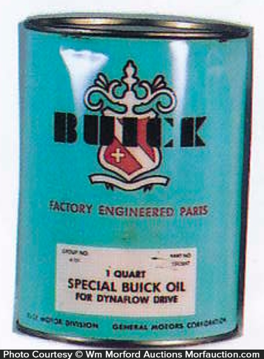 Buick Oil Can