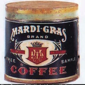 Mardi-Gras Coffee Can