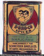 S-Bro-Co Spice Tin